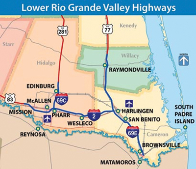 Map Of Interstate 69 In Texas.I 69 Makes History In Rio Grande Valley As South Texas First