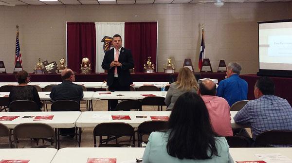 Superintendent Salazar Addresses Los Fresnos Chamber | Los ...