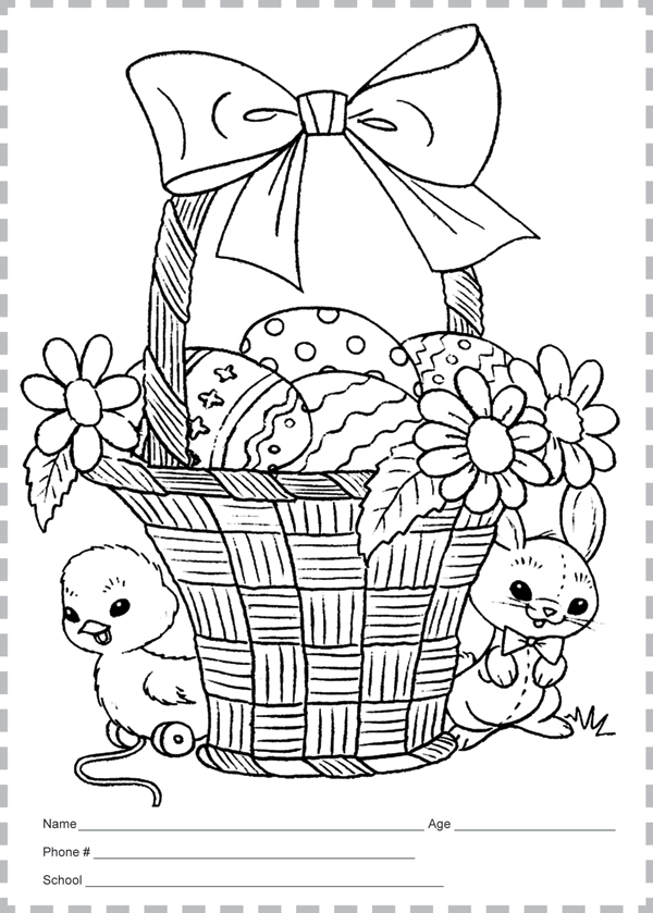 Enter our 2017 Easter Coloring Contest Today! | Los Fresnos News