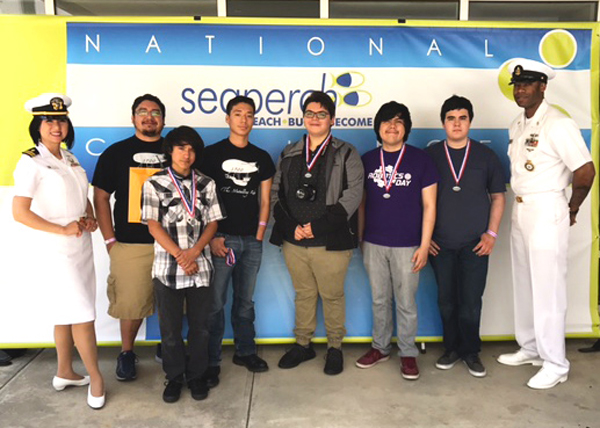 Rio Hondo High School was one of five teams from the Rio Grande Valley to compete in May at the National SeaPerch Challenge in Atlanta, Georgia. Photo: Courtesy of Christopher Brotzman-Gonzales