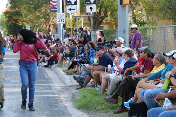 Los Fresnos residents lined the streets to see this year's Homecoming Parade.