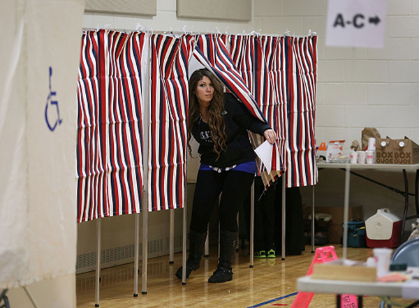A U.S. Supreme Court ruling this week means Texas voters must use the Congressional district boundaries drawn up the Republican legislators in 2012. Photo: Raedle/GettyImages