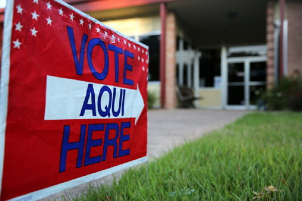 Texas will be the first state to hold a primary in the 2018 midterm elections, and voters will have to navigate a new Voter ID law that took effect on Jan. 1. Photo: JohnMoore/GettyImages
