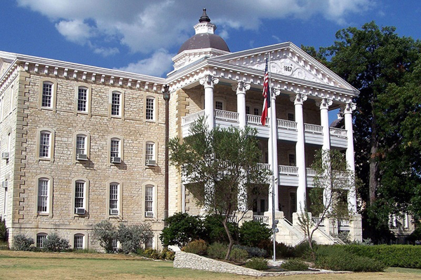The Austin State Hospital was opened in 1857 as the Texas State Lunatic Asylum. It will be replaced with a new $235 million facility in 2019. Photo: THHSC