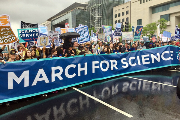 Organizers expect a large crowd at the April 21 March for Science rally at the State Capitol in Austin. (MarchforScience)