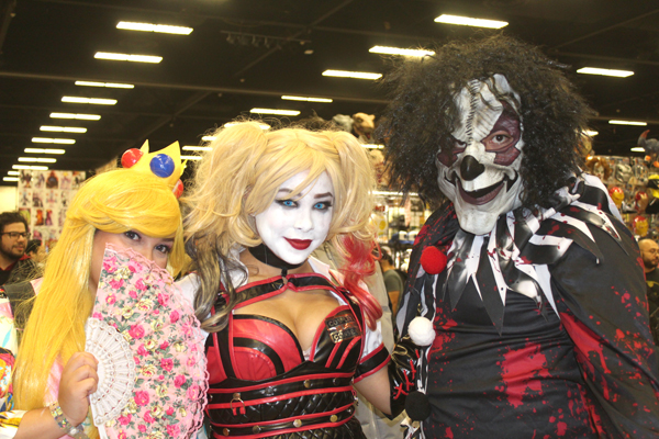 Cosplayers dressed up as their favorite characters from television, movies, animation and video games at the 5th Annual South Texas Comic Con. Photos: Tony Vindell/LFN