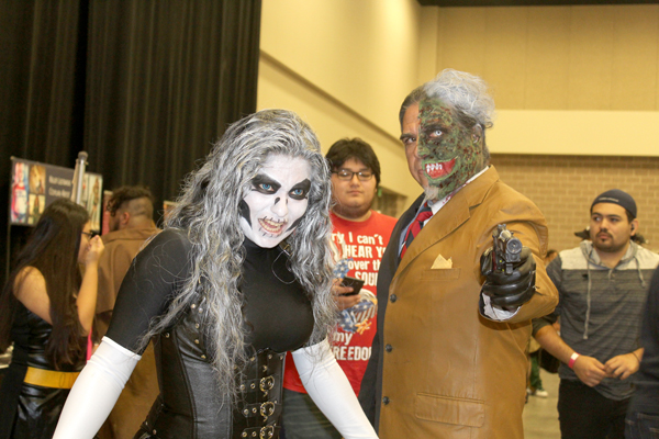 Cosplayers pose for photos at this year's South Texas Comic Con. Photos: Tony Vindell/LFN