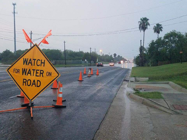 Heavy rainfall last Wednesday morning caused major flooding that submerged vehicles and structures, forced evacuations and led to numerous water rescues throughout the Rio Grande Valley. Photo: Christine Martinez/City of Los Fresnos Community Health Outreach Facebook Community Page