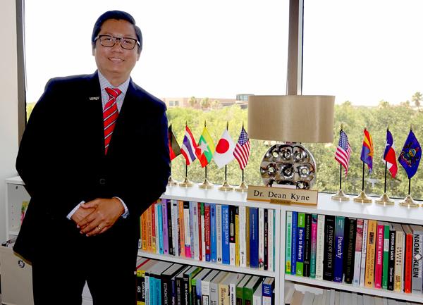 Dr. Dean Kyne Photo: Malena Hernandez/UTRGV